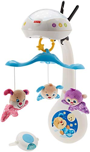 Fisher-Price - Rires & Eveil Mobile projecteur 3 en 1, Multicolore, fwr90