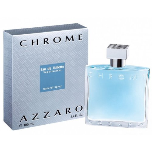 Azzaro Chrome Eau de Toilette Spray 100 ml Neu
