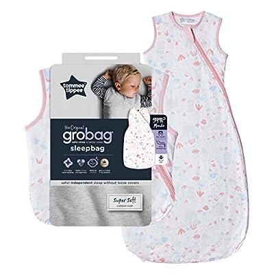 Tommee Tippee The Original Grobag - Saco de dormir para bebé, 18-36 meses, 1 tog, diseño floral