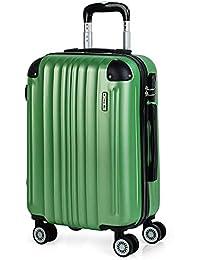 f2ae03584 ITACA - Maletas de Viaje Rígidas 4 Ruedas Trolley ABS. Neceser. Resistentes  y Ligeras
