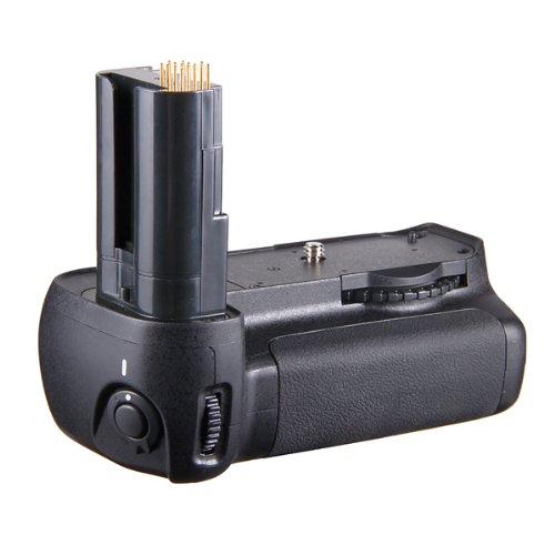 Andoer   Empuñadura con soporte para baterías de cámara Nikon D90/D80, color negro