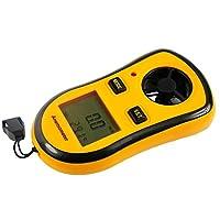 ZUZU Digital Wind Speed Anemometer Handheld, Wireless Bluetooth Vane Anemometer Meter for Wind Chill, Speed, Temperature Monitor