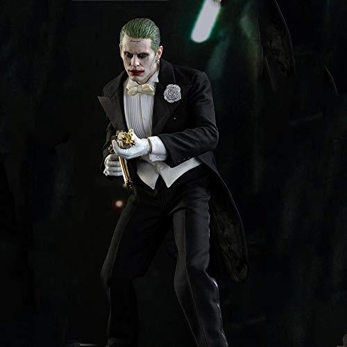 DUHLi Joker Action Figure Suicide Squad X Joker Miracle Toy, - Black Butler Joker Kostüm