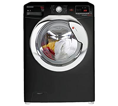 Hoover WDXOC485CB 8KG 5KG 1400 Spin Washer Dryer - Black.