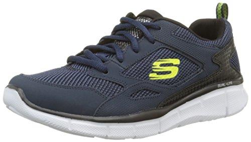 Skechers Jungen Equalizer Game Point Sneaker Blau (Marineblau)