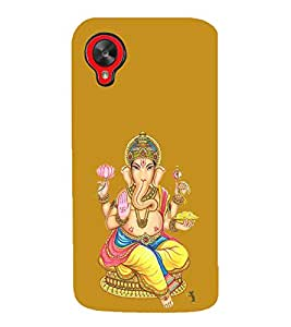 Fuson Designer Back Case Cover for LG Nexus 5 :: LG Google Nexus 5 :: Google Nexus 5 (Ganesha GAnapathi lord GAnapthi Lord Ganesha Ganesha Idol)