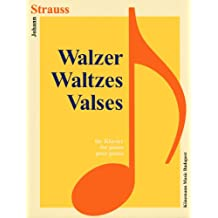 Partition - Strauss - Valses - pour piano