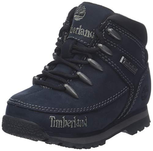 Timberland Euro Sprint, Botas Chukka Unisex-Niño, Azul Navy, 30 EU