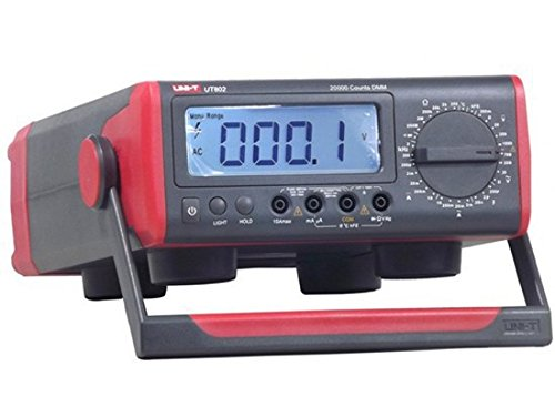 Uni-T ut802AC/DC Powered 20000Counts; manuelle Range Digital Bench Typ Multimeter 200ohm Bench Digital Multimeter