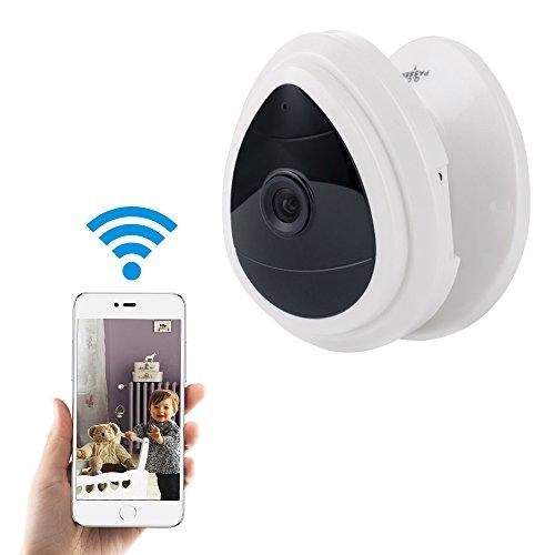 Mini Kabellose Sicherheitskamera für Zuhause WLAN Überwachung IP Kameras Baby/Haustier Indoor Videoüberwachung Nur Tageslicht Ein Weg Audio Bewegungserkennung