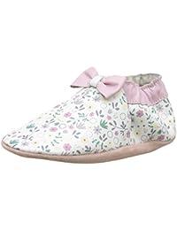 Robeez Tender Flower, Chaussures de Naissance Bébé Fille