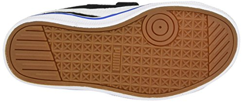 Puma 1948 Vulc V Ps, Baskets Basses Mixte Enfant Noir - Schwarz (puma black-puma white-puma Royal 05)