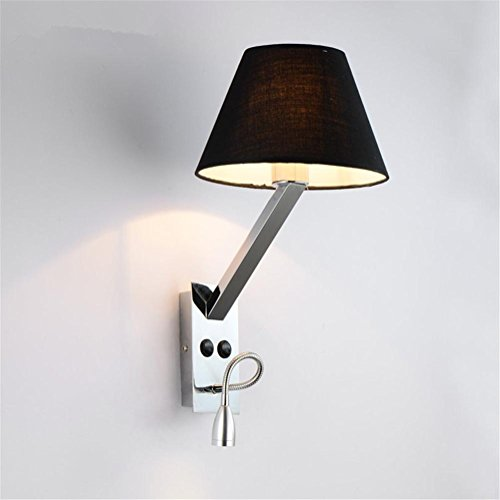 wall-lights-modern-reading-led-polished-chrome-wrought-iron-wall-lamp-adjustable-metal-swing-arm-and
