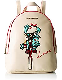 Love Moschino - Moschino, Bolsos mochila Mujer, Elfenbein (Ivory), 10x28x22 cm (B x H T)