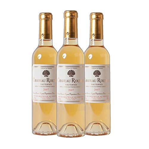 Chateau Roumieu Sauternes AC Dessertwein süß Frankreich 2014 lieblich (3x 0.375 l)