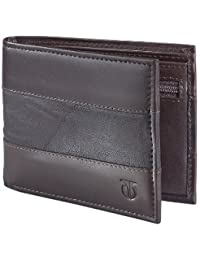 Titan Men's Dark Brown Wallet (TW107LM1DB)