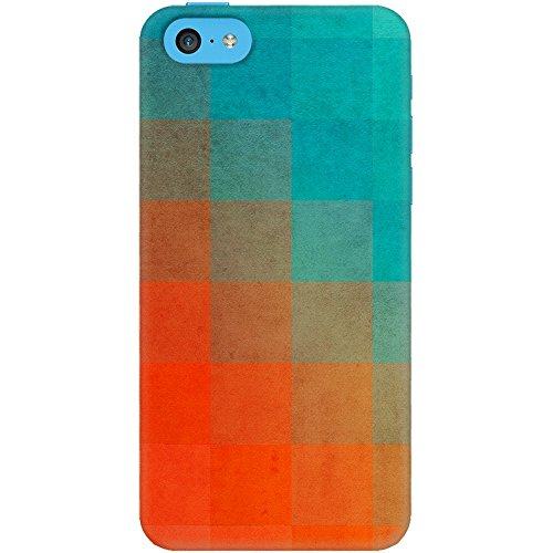 DailyObjects Beach Pixel Surface Case For iPhone 5C