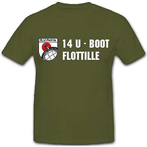 14. U-Boot FLOTTIGLIA Marine WK 2 wh Stemma Marling -