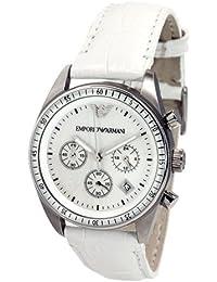 8588586e167a Armani correa de reloj AR-5664 Piel Blanco 20mm(Sólo reloj correa - RELOJ