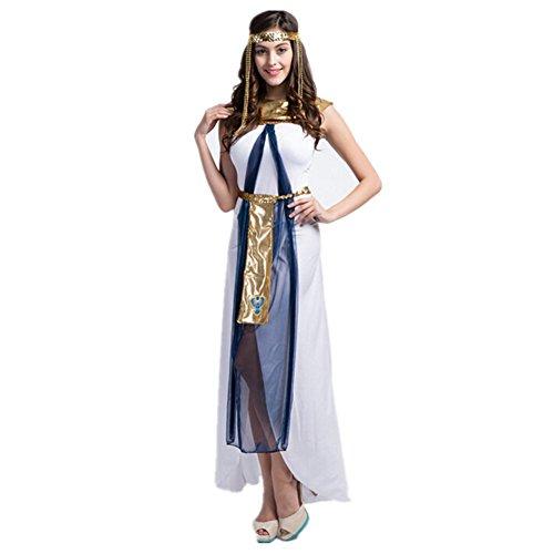 Imagen de disfraz de diosa griega atena para mujer cosplay costume romana reina egipcia alternativa