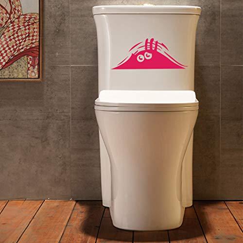 Home TüR Dekoration 2019,Verwenden Sie Die Kraft Lustige Toilette Aufkleber Vinyl Aufkleber DIY Wandaufkleber WC Badezimmer ()