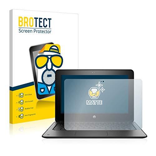 BROTECT Schutzfolie Matt kompatibel mit HP ProBook x360 11 G1 EE - Anti-Reflex, Anti-Fingerprint, Anti-Kratzer