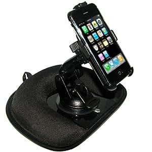Amzer Support lesté et antidérapant de tableau de bord pour iPhone / iPhone 3G / iPhone 3G S (Import Royaume Uni)