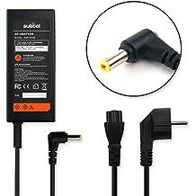 subtel® Fuente de alimentación (19V,65W) para Asus Eee PC / R510C/X751L/X552C/X301A/S550C (2.2m) cable de corriente Cargador ordenador portatil