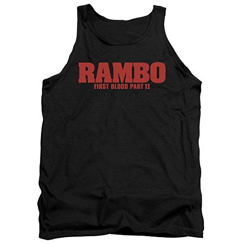 Rambo - II - Herren Logo Tank Top Black