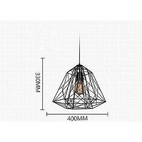 Metallo Vintage IndustrialStyle Creative lampadario pendente Lighting
