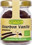 Rapunzel Bourbon Vanille, gemahlen, 1er Pack (1 x 15g Glas) - BIO