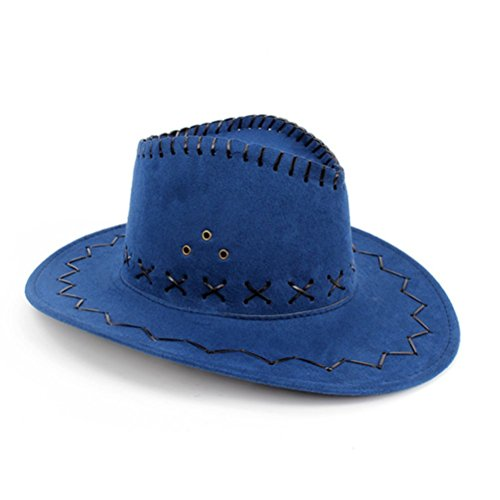 HMILYDYK Cowboy Hat Fancy Dress Accessory Wide Brim Western Cowgirl Hats  Wild West - Buy Online in UAE.  92f5b767cd2f