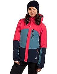 O 'Neill Coral Jacket, mujer, Coral jacket, rojo hibisco