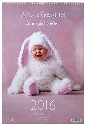 Kalendarz 2016 Ĺcienny - Anne Geddes [KALENDARZ]