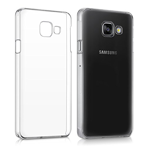 kwmobile Hülle für Samsung Galaxy A3 (2016) - Crystal Case Handy Schutzhülle Kunststoff - Backcover Cover Klar Transparent
