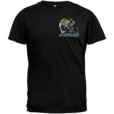 Old Glory NFL Jacksonville Jaguars - Sky T-camiseta de manga corta casco de