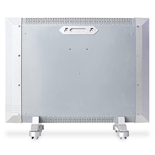 Klarstein Wärmewellen-Heizgerät Heizung Lautlos hohe Effizienz 1500W ( LED-Display, stufenlos regelbar, Raumgröße bis 50 m³, Thermostat) vollmobil HT003MC - 3