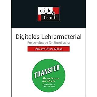 Transfer. Die Lateinlektüre / Menschen an der Macht click & teach Box: Digitales Lehrermaterial (Karte mit Freischaltcode)
