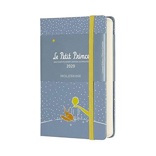 Moleskine - Agenda 12 Mois 2020 Le Petit Prince Edition Spéciale Renard avec Couverture Rigide et Fermeture Elastique - Format de Poche 9 x 14 cm - 400 Pages