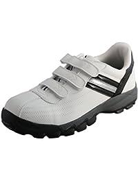 DDTX Zapatillas de Seguridad Hombre con Punta de Acero Calzado de Trabajo Comodos y Ligeros Transpirables Blancas Negro