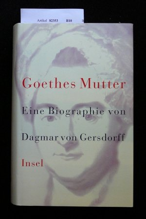 goethes mutter frau