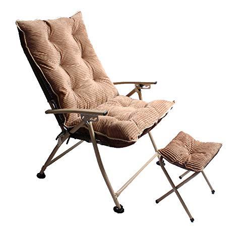Cranese Sillón reclinable Plegable, Banco de Zapatos pequeño para Oficina, Mesa Exterior...