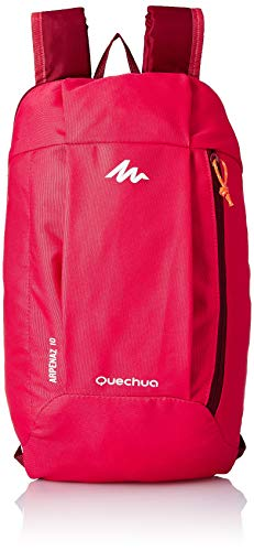 Pink - QUECHUA ARPENAZ HIKING BACKPACK 10 Litre