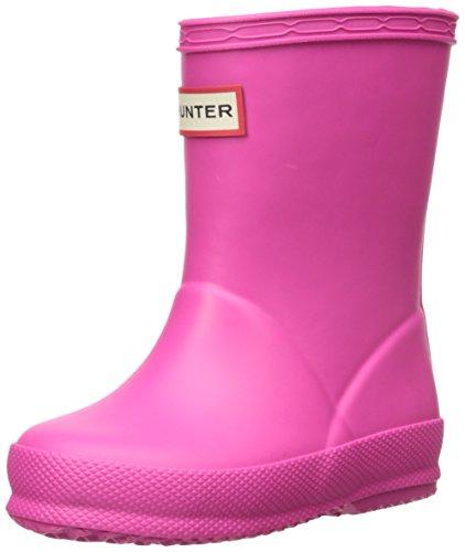 Hunters Kid's First W24133 Unisex-Kinder Gummistiefel, Pink, 25 EU -