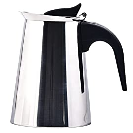 4/6/9-Cup Coffee Pot Espresso Coffee Maker-Stovetop Espresso Maker/Italian Moka Coffee Pot-Stainless Steel Coffee Cup…