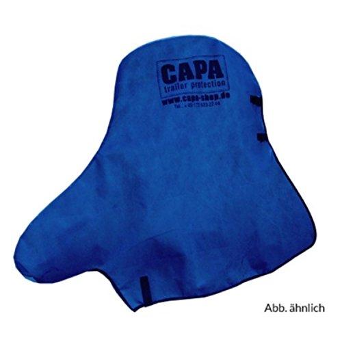 Preisvergleich Produktbild Deichselschutz blau CAPA Deichselschutz für PKW Anhängerkupplung und Stützrad Deichsel Schutzhülle Abdeckung Abdeckplane in blau