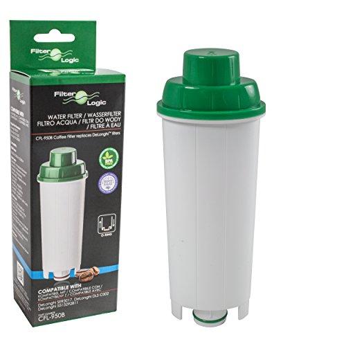 FilterLogic CFL-950B - Wasserfilter für DeLonghi Kaffeemaschine - ersetzt DLS C002 / DLSC002 /...