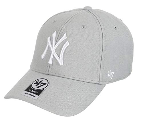 47 Unisex New York Yankees Kappe, Grau (Grey), (Herstellergröße: One Size)