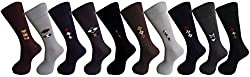 RC. ROYAL CLASS COTTON FORMAL SOCKS FOR MEN IN ASSORTED COLORS (PACK OF 10)