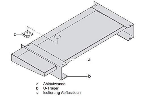 Daikin Kondensatwanne für Außengeräte mit 4-8 kW EKDP008C -